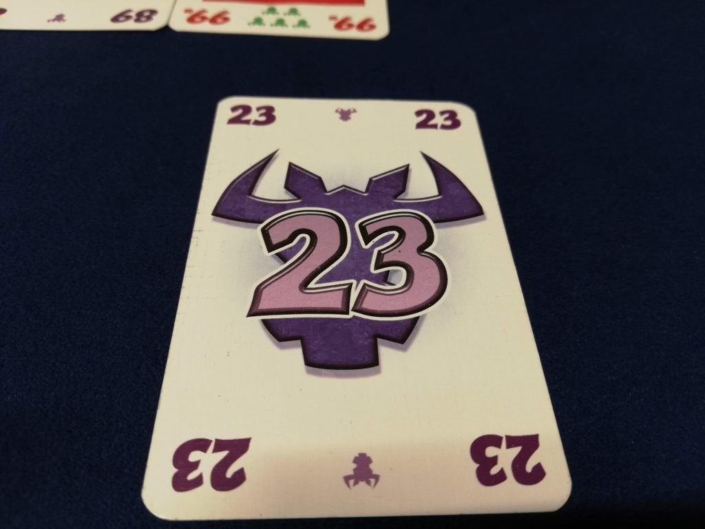 23のカード