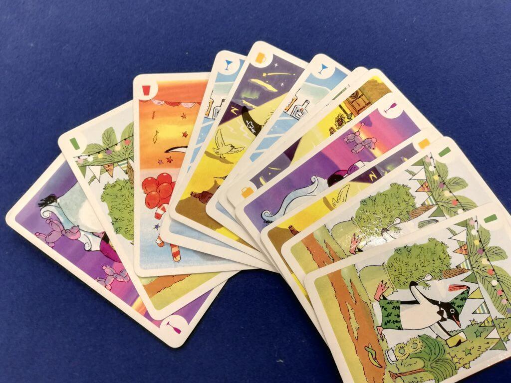 手札のペンギンカード
