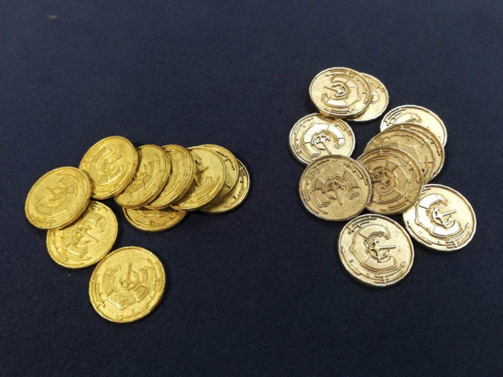 金貨と銀貨