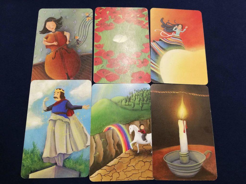 6枚の「希望」のカードが出そろった
