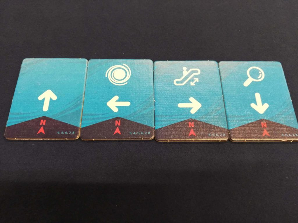 プレイヤー人数分のタイル